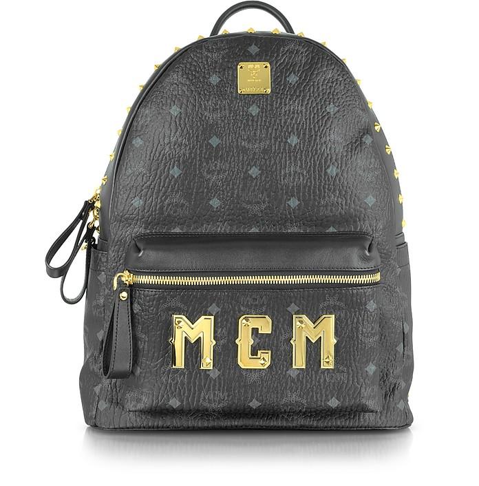 Stark Medium Black Backpack - MCM