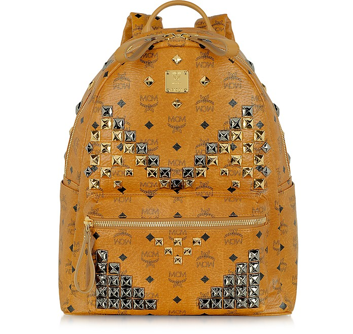 Stark Medium Studded Backpack - MCM