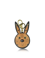 MCM Charm Rabbit Cognac con Specchio - mcm - it.forzieri.com