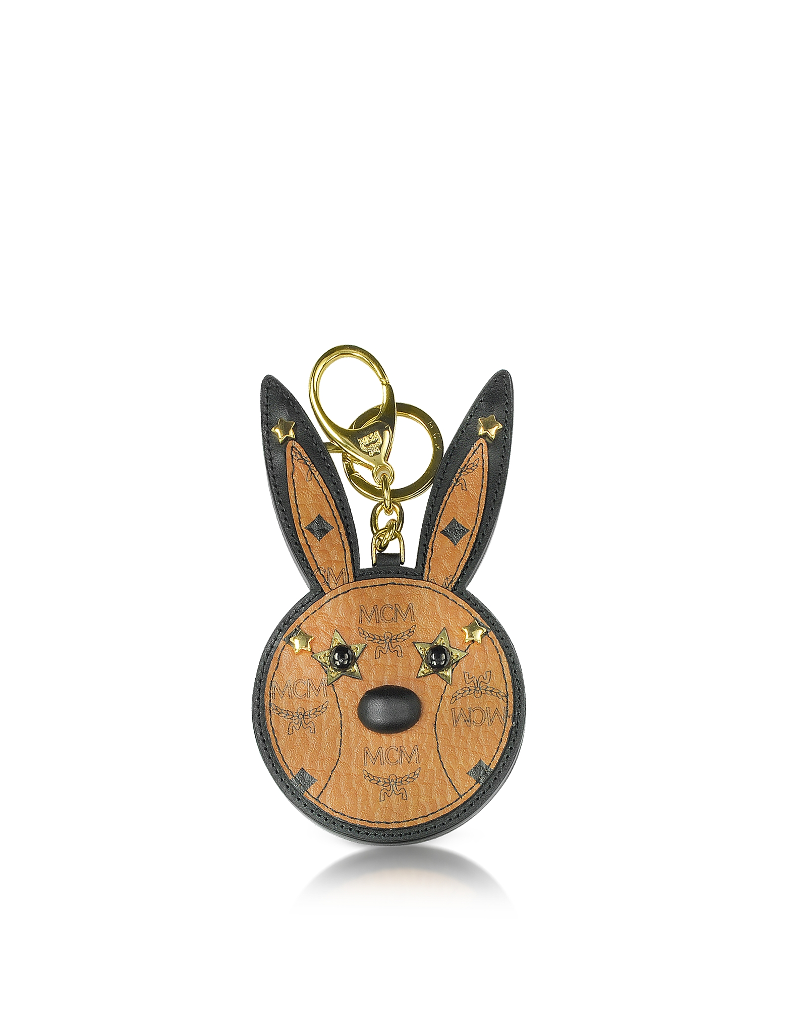 MCM Handbags, Cognac Rabbit Mirror Charm