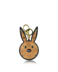 Cognac Rabbit Mirror Charm - MCM