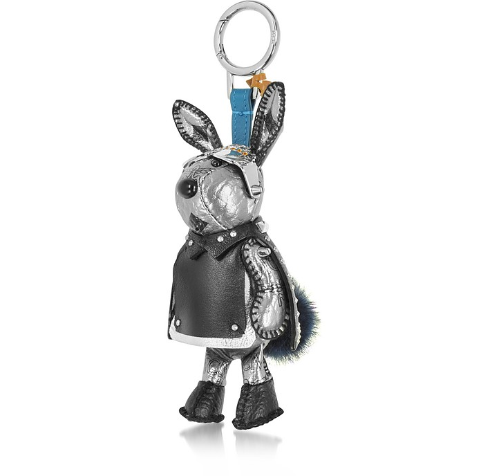 Silver Rabbit Charm - MCM
