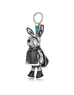 MCM Charm Rabbit Argento con Anello Portachiavi - mcm - it.forzieri.com