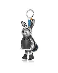 Silver Rabbit Charm