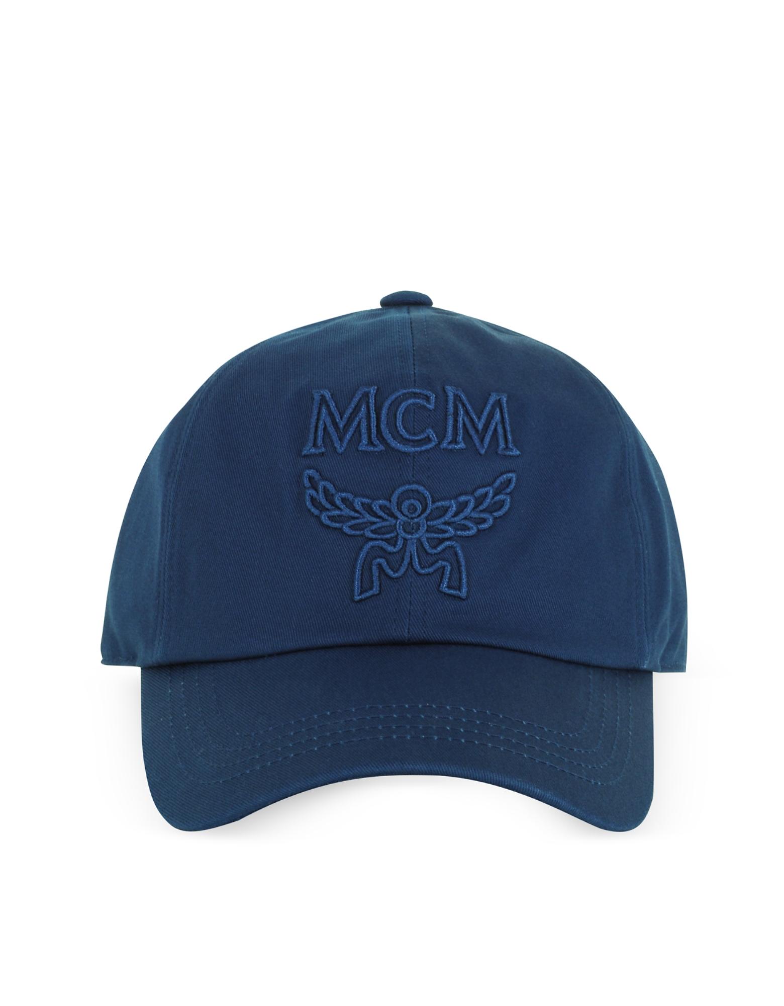 MCM Men's Hats, Signature Cotton Baseball Cap