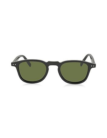 C line - FREDDY CL 41400/S 8071E Black Acetate Square Frame Unisex Sunglasses