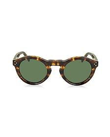 BEVEL CL 41370/S Acetate Round Unisex Sunglasses - Céline