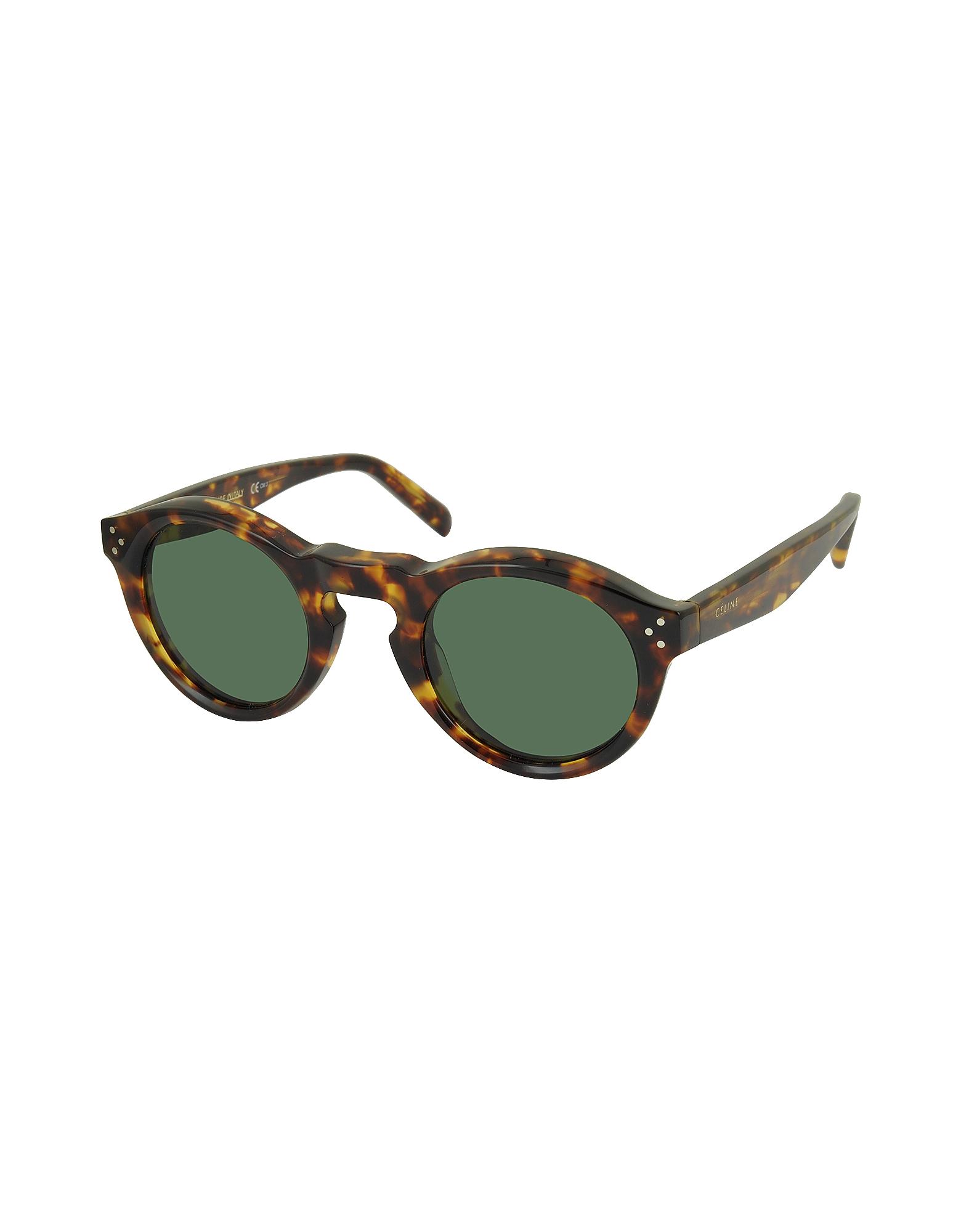 BEVEL CL 41370/S Acetate Round Unisex Sunglasses от Forzieri.com INT