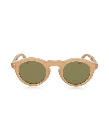 C line - BEVEL CL 41370/S Acetate Round Unisex Sunglasses