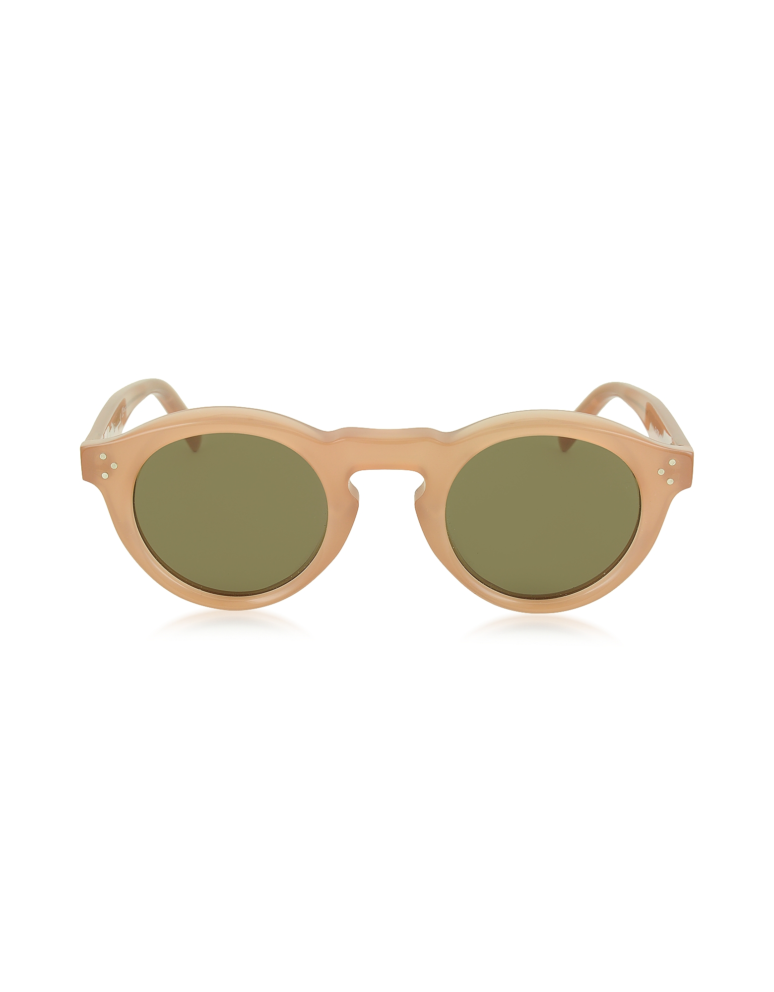 Céline Sunglasses, BEVEL CL 41370/S Acetate Round Unisex Sunglasses
