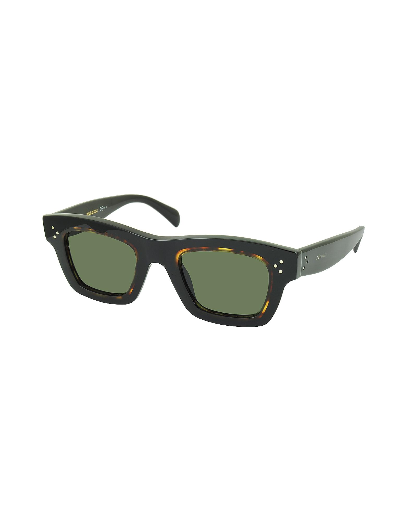 GABY CL 41396/S T7D70 Havana Acetate Square Frame Unisex Sunglasses от Forzieri.com INT