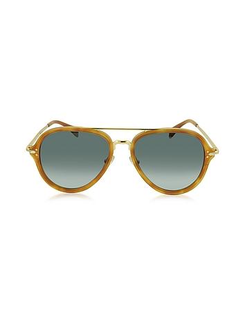 5830ee0fd1469 DROP CL 41374 S Acetate Aviator Unisex Sunglasses from Céline at ...