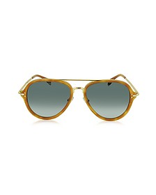 DROP CL 41374/S Acetate Aviator Unisex Sunglasses - Céline