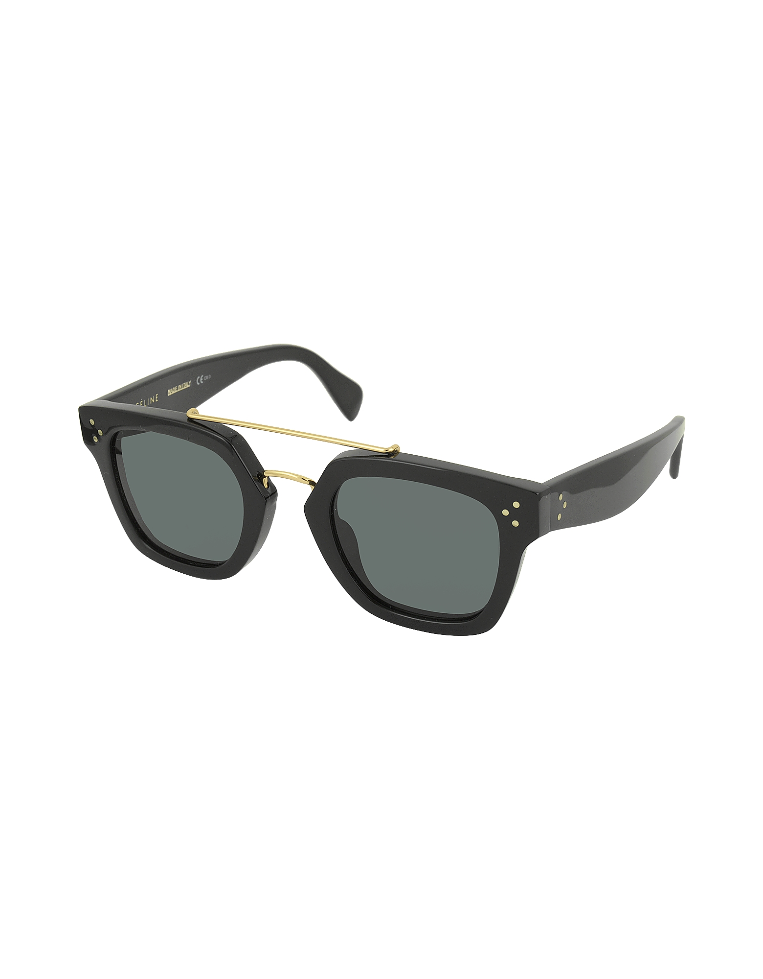 BRIDGE CL 41077/S 807BN Black Acetate Geometric Unisex Sunglasses от Forzieri.com INT