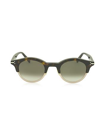 C line - JULIA CL 41395/S Acetate Round Women's Sunglasses