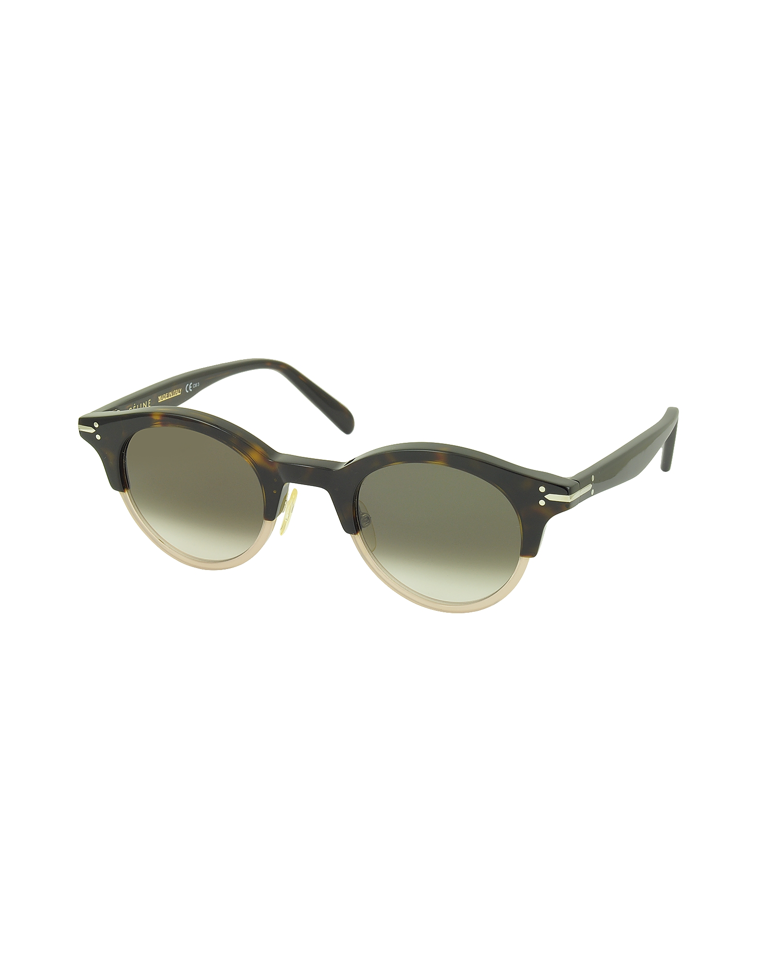 JULIA CL 41395/S Acetate Round Women's Sunglasses от Forzieri.com INT