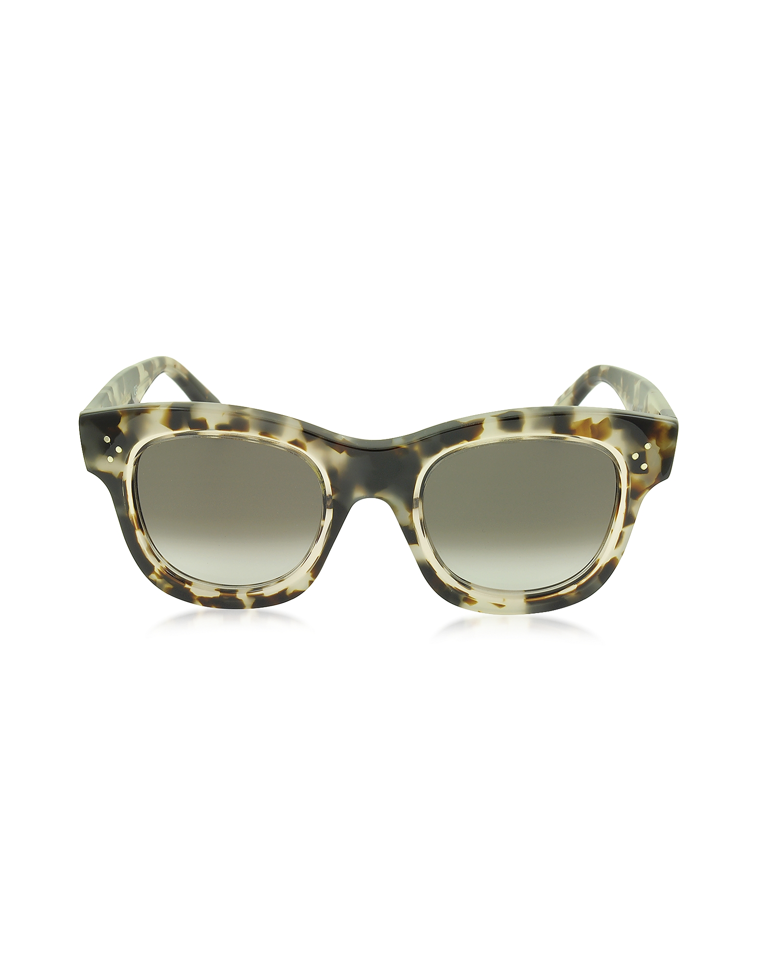 Céline Sunglasses, HELEN CL 41397/S T7MZ3 Havana Acetate Cat Eye Women's Sunglasses