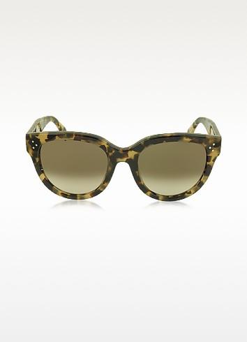 AUDREY CL 41755/S Acetate Cat Eye Women's Sunglasses - Céline