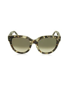 AUDREY CL 41755/S Acetate Cat Eye Women's Sunglasses - Celine