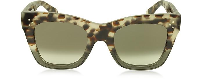 CATHERINE CL 41090/S Acetate Cat Eye Women's Sunglasses - Céline