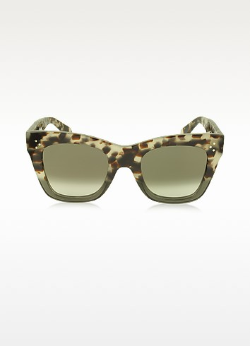 CATHERINE CL 41090/S Acetate Cat Eye Women's Sunglasses - Céline