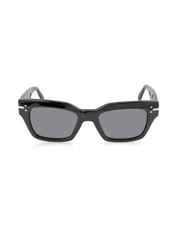 Lux-ID 209475 CL 41070/S Black Acetate Rectangular Women's Sunglasses