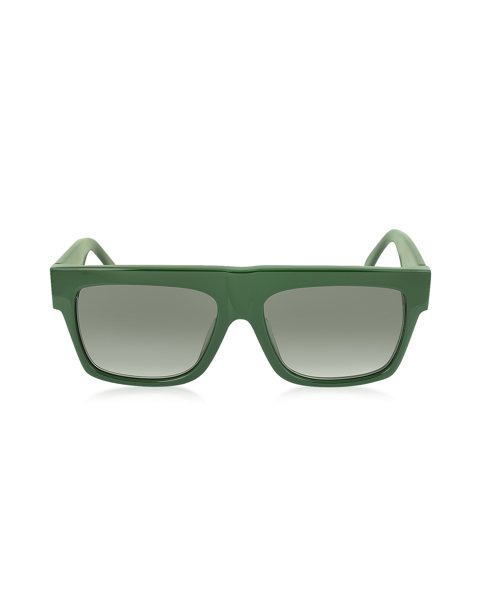 CL 41066/S - Зеленые Женские Солнечные Очки из Ацетата