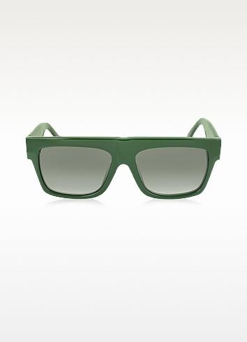 Celine CL 41066/S - Зеленые Женские Солнечные Очки из Ацетата