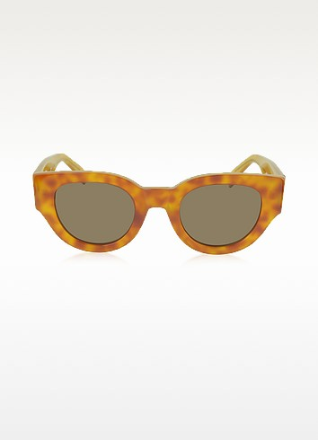 CL 41064/S Bicolour Branch In Acetate Sunglasses - Céline