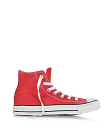 All Star Sneaker Rosse in Tela - Converse Limited Edition