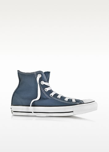 All Star Navy Blue Canvas High Top Sneaker - Converse Limited Edition
