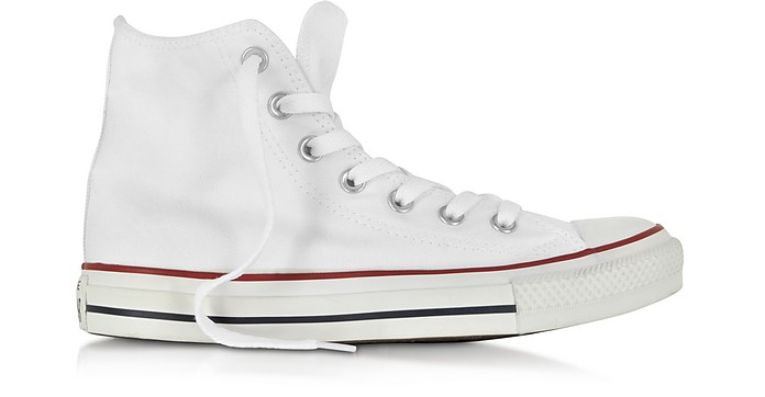All Star 光学白色帆布高帮运动鞋 - Converse Limited Edition  匡威