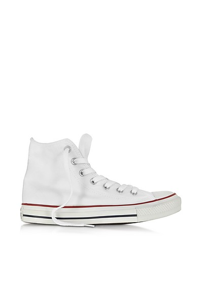 All Star Optic White Canvas High Top Sneaker - Converse Limited Edition
