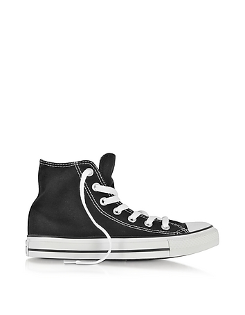 All Star Black Canvas High Top Sneaker