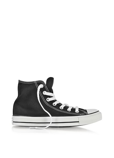 All Star Black Canvas High Top Sneaker - Converse Limited Edition