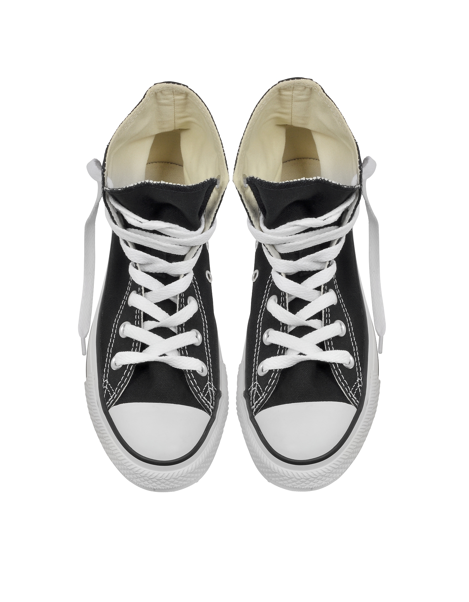 All Star Black Canvas High Top Sneaker от Forzieri.com INT