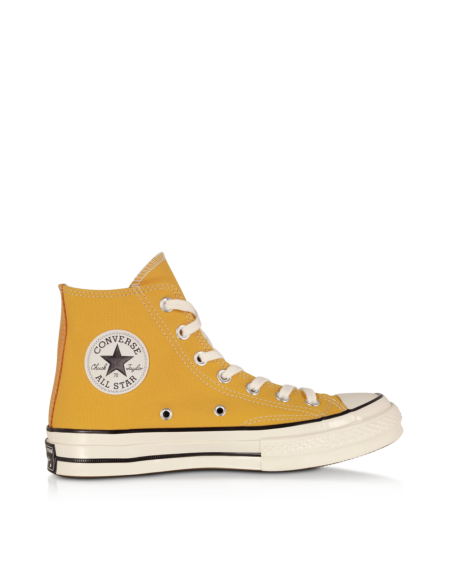 Converse Limited Edition Designer Shoes, Sunflower Chuck 70 w/ Vintage Canvas High Top