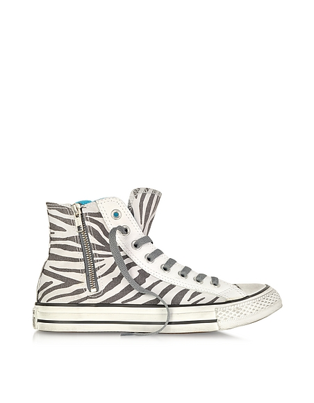 Foto Converse Limited Edition Sneaker All Star High-top in Canvas con Zip Scarpe