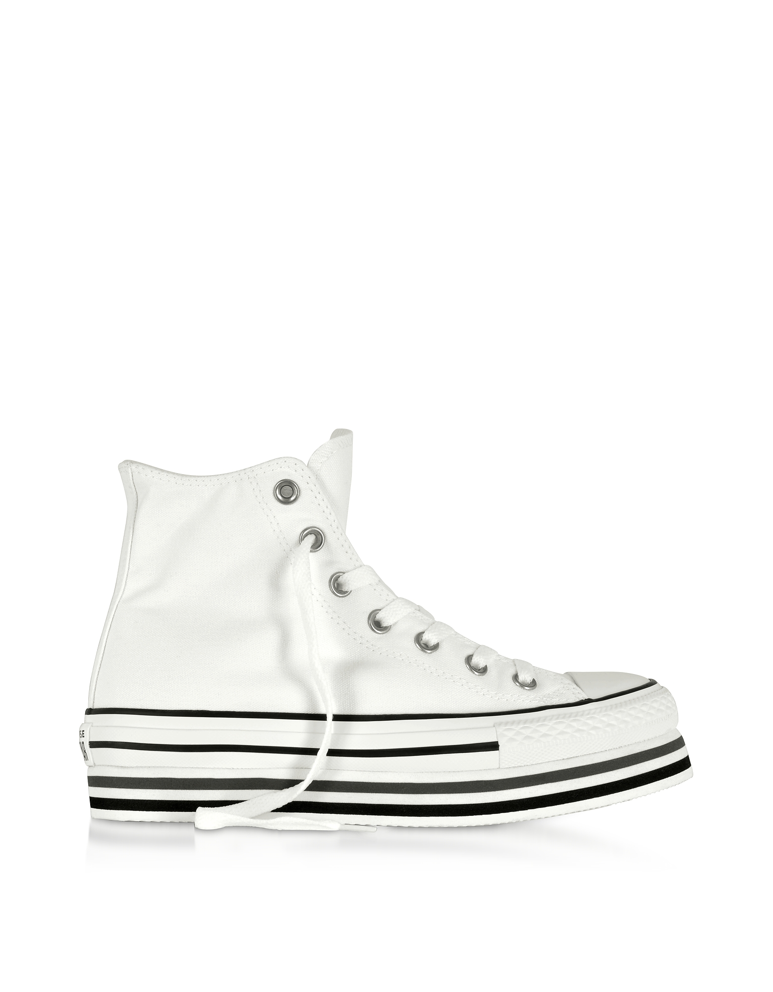 Chuck Taylor All Star Platform Layer White Sneakers