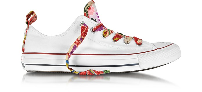 CT All Star Ox/ Red Hanami Canvas Sneaker - Converse Limited Edition