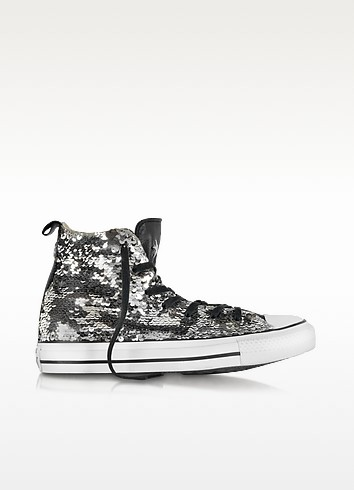 CT As Hi Sparkling Sequins and Canvas Sneaker - Converse Limited Edition