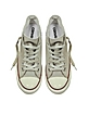 All Star Mid Lux Canvas Washed Turtledove Wedge Sneaker - Converse Limited Edition