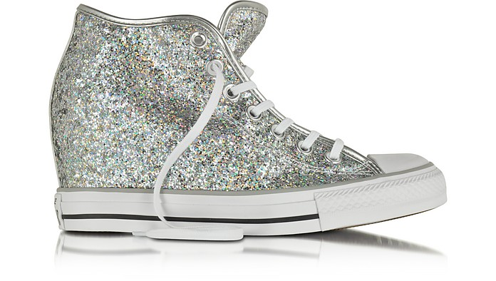 All Star Mid Lux Glitter Wedge Sneaker - Converse Limited Edition