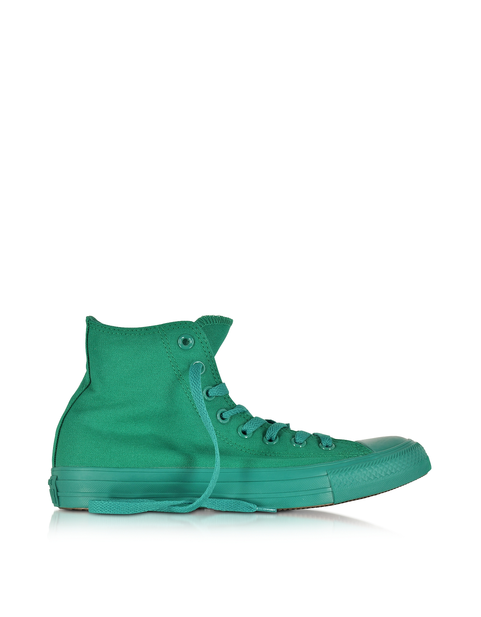 All Star Hi - Зеленые Монохромные Кроссовки из Ткани Bosphorous
