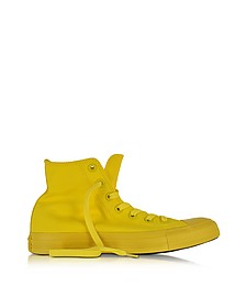 All Star Hi Canvas Aurora Yellow Monochrome Sneaker - Converse Limited Edition