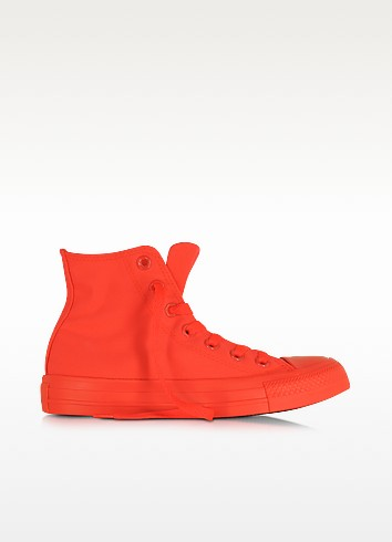 All Star Hi Neon Crimson Canvas Sneaker - Converse Limited Edition