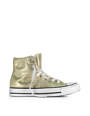Converse Limited Edition - Chuck Taylor High Metallic Canvas Sneakers