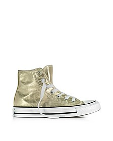Chuck Taylor High Sneakers in Canvas Metallizzato Oro - Converse Limited Edition