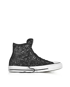 Chuck Taylor All Star - Sneakers Montantes en Tissu Pailleté Noir - Converse Limited Edition