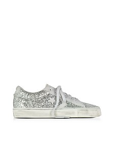 Pro Leather Vulc Ox Sneaker aus Leder mit Glitter - Converse Limited Edition